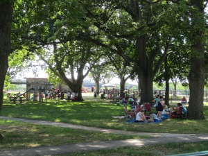 Magazine Beach has been the venueforart activities, musical performances, and nature explorationfor the past several years, supported by the Cambridge Arts Council, Cambridgeport Neighborhood Association, and other sponsors.