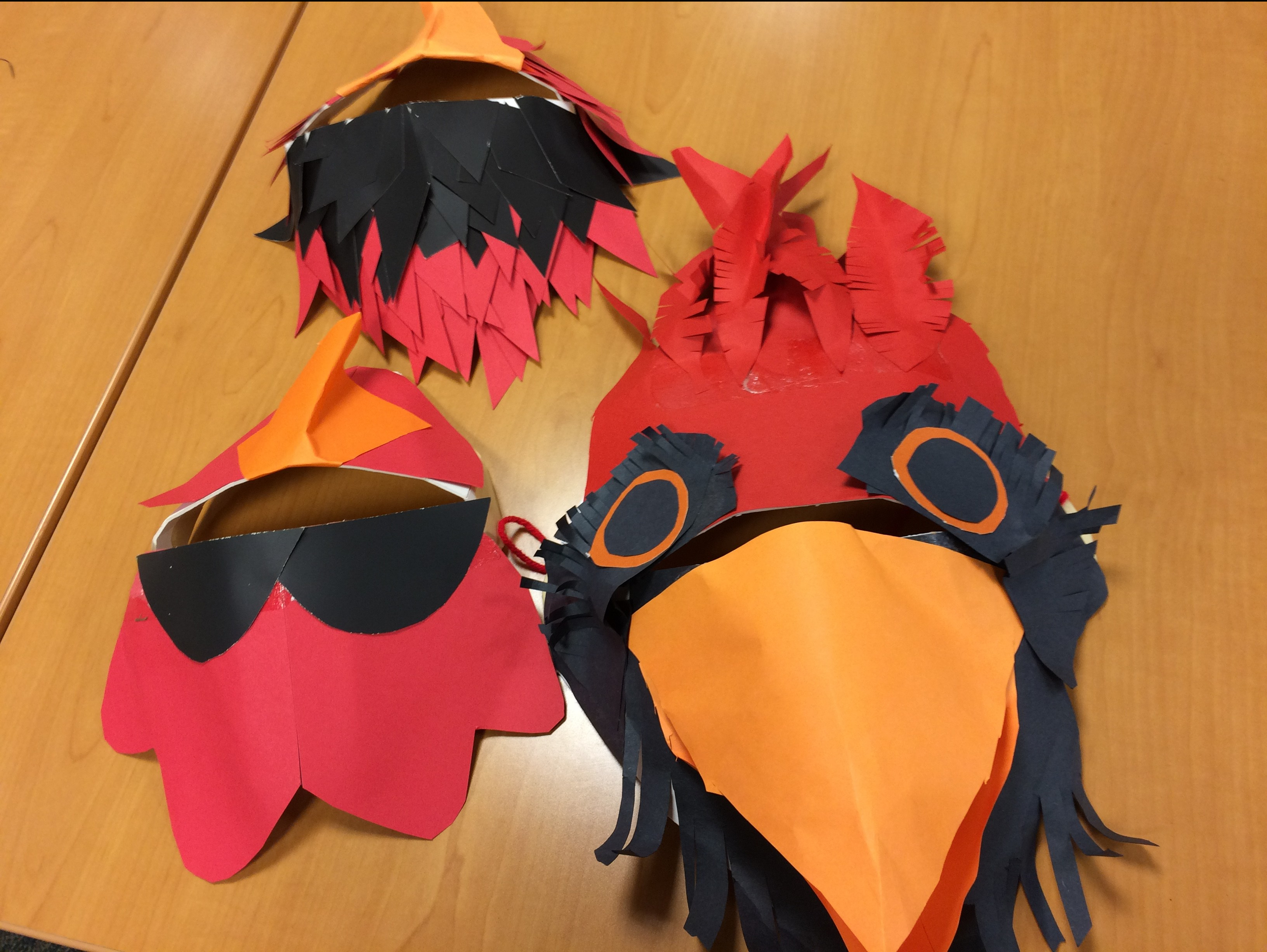 cardinalmasks cambridge wildlife puppets