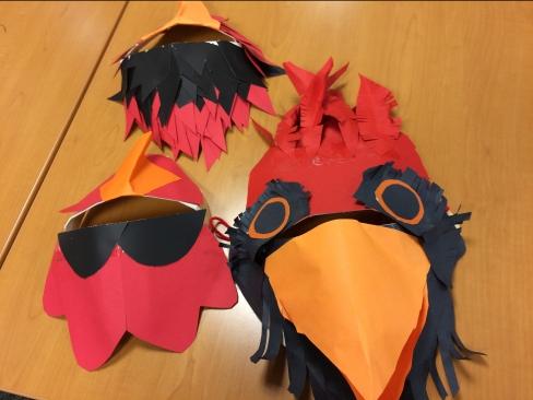 cardinalmasks cambridge wildlife puppets